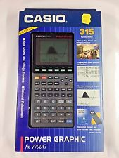 Casio FX-7700G Power Graphic Calculator - Brand New - Vintage