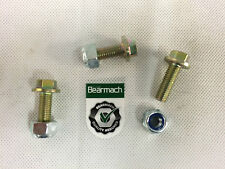 Bearmach RC43 Land Rover Defender Rear Trailing Arm Bush to Chassis Bolt & Nut