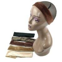 Wig Grip Adjustable HeadBand Velvet Elastic Comfort Wig Fastern Band X6B6
