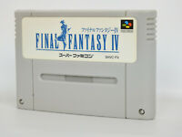 Super Famicom FINAL FANTASY IV 4 Cartridge Only Nintendo sfc