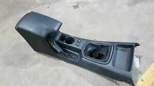 TOYOTA HILUX CONSOLE MANUAL T/M TYPE, 4WD, 09/15- BLACK FRONT AND REAR SECTIONS