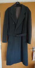 Vintage Hugo Boss Continental Moss Green Wool Coat EU56/UK56 Excellent Condition
