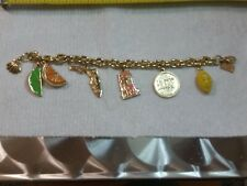 RARE LILLY PULITZER  FLORIDA CHARM BRACELET - 100% of PROCEEDS TO CHARITY