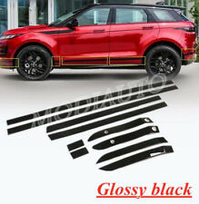 FOR 2020 Land Rover Range Rover Evoque Glossy black Body Door Side Molding Trim