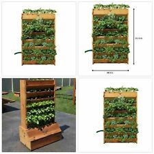Wooden Garden Tall Planters Boxes for sale   eBay
