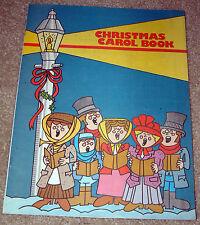 Christmas Carol Book - 1983 Chicago Area Ads  - Des Plaines Mount Prospect Niles