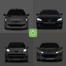 2 bulbs LED white Night lights / position Peugeot 206 207 307 407 2008 3008