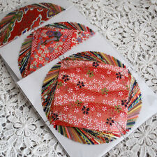 Japanese Finest Yuzen Washi Origami Paper Pack - 40 Sheets Assortment - 10cm