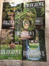 Set of 5 Highgrove Magazines - The Prince's Secret Garden - Daily Mail Inserts