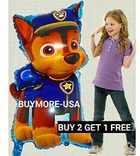 "XL 36"" PAW PATROL BALLOONS PAPPY  FOIL BOY Toy birthday party"