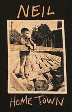 Rare Neil Young Hometown 1-12-17 Show T Shirt XL Omemee, ONT