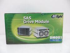 "Enlight DM001219 3-in-2 3.5"" SAS SATA Hot Swap Cage Enclosure High Quality"
