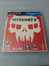 Resistance 3 - PlayStation 3 - Complete and Tested - PS3
