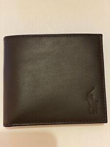 Polo Ralph Lauren Wallet, Brown , Brand New, RRP 59.00