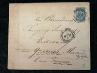 Russland & Sowjetunion ca. 1897 - alter Brief Ganzsache 7 Kon.