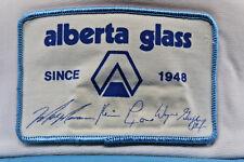 Alberta Glass Co. Vintage Hat w Mark Messier Wayne Gretzky Kevin Lowe stitched