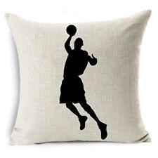 Basketball Sofa Waist Throw Pillow Case Cushion Cover Fashion Home office Decor