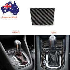 For VW Golf 6 MK6 GTI 2008-2012 Carbon Fiber Interior Ashtray Panel Trim Cover