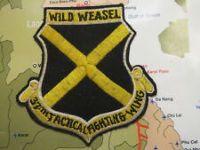 Patch - 37th Tactical Fighter Wing Patch Wild Weasel , Patch