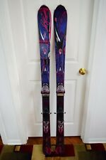 New listing K2 SUPERFREE SKIS SIZE 153 CM WITH MARKER BINDINGS