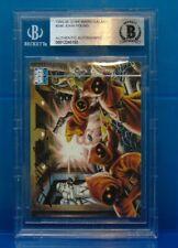1993 Topps Star Wars Galaxy Card #346 Jawas Signed by John Pound Beckett BAS COA