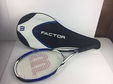 Wilson K Factor K Pro.Six Midplus 100 head 4 1/2 grip Tennis Racquet W/case