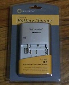 Promaster 9176 Traveler + Charger ILC Interchangeable Lens Camera Batteries 9176