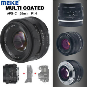 Meike 35mm F1.4 Fixed Focus Lens For Fujifilm X mount/Sony E Mirrorless Camera S
