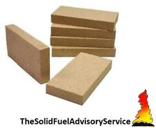"4 x Vermiculite Villager Fire bricks fire brick firebrick  firebricks 9"" x 4.5"""