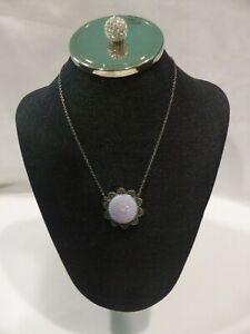 SABIKA Ornate Medallion Necklace Brand New Dust Bag