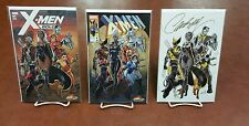 X-Men Gold #1 J Scott Campbell Variant 3 cover set SIGNED W/ COA In Stock