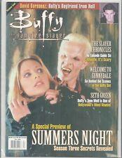 Buffy The Vampire Slayer Magazine #1 Sarah Michelle Gellar Premiere Issue New