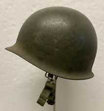 Original WWII/Korea Front Seam Swivel Bale M1 Paratrooper Helmet