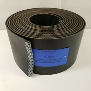 New Holland BR780 Round Baler Belts Complete Set 3 Ply Roughtop w/ Clipper
