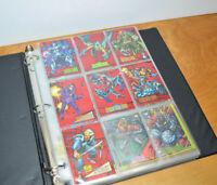 Vintage SKYBOX MARVEL TRADING CARDS 1993 Base Set & Partial Bonus Set Non-Sports