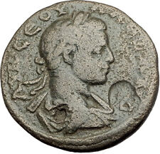 SEVERUS ALEXANDER 225AD Caesarea Cappadocia Ancient Roman Coin MOUNT Arg. i65143