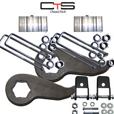 "Lift Kit Chevy Torsion Keys Forged 1""-3"" 2011-15 2500 3500 K-19 Blks=2.75"" ""G"""