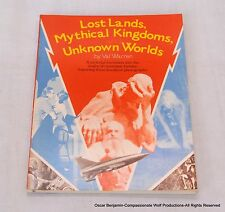 Lost Lands, Mythical Kingdoms, & Unknown Worlds  RARE Heavy Metal Published Book