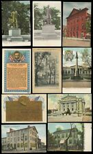 ABRAHAM LINCOLN COLLECTION PPCs 1905-30...10 CARDS
