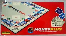 MONEY PLUS GLOBAL BUSINESS GAME WORLD MONOPOLY STYLE SUPER RARE