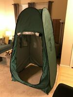 Portable Green Beach Tent Camping Shower Changing Room 100% Brand New Pop Up