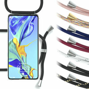 Case for Huawei P30 Case Chain With Band Mobile Case Silicone Cover