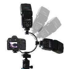 C-Shaped C Bracket Mount Holder for Flash LED Video Light DSLR Camera Camcorder