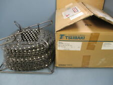 Tsubaki 2040AS 90Ft SS Every Pitch Roller Conveyor Chain - New