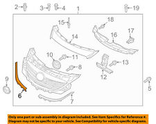 MAZDA OEM 13-15 CX-9 Front Bumper Grille-Lower Molding Trim Right TK21507J1B