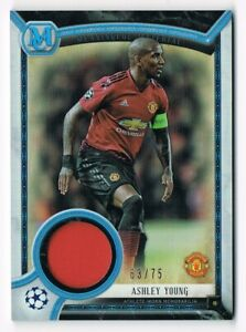 Topps según demanda 77 Paul Wasted Manchester United Azul tarjeta paralelo