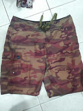 Used O'Neils Men's Camo Green Swimming Short Trunk size S