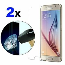 2X Tempered Glass Guards Screen Protectors Film For Samsung Galaxy S3 S4 S5 S6