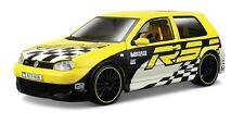 TC62 Volkswagen Golf R32 All Stars 1:24 1/24 Yellow Diecast Model Toy Car Maisto