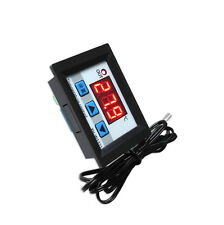 Black DC 12V LED Digital Temperature Controller Thermostat Control Switch Probe